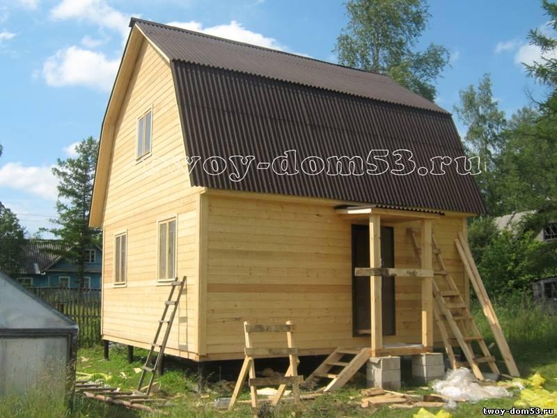 Построить дом под ключ недорого для постоянного проживания своими руками