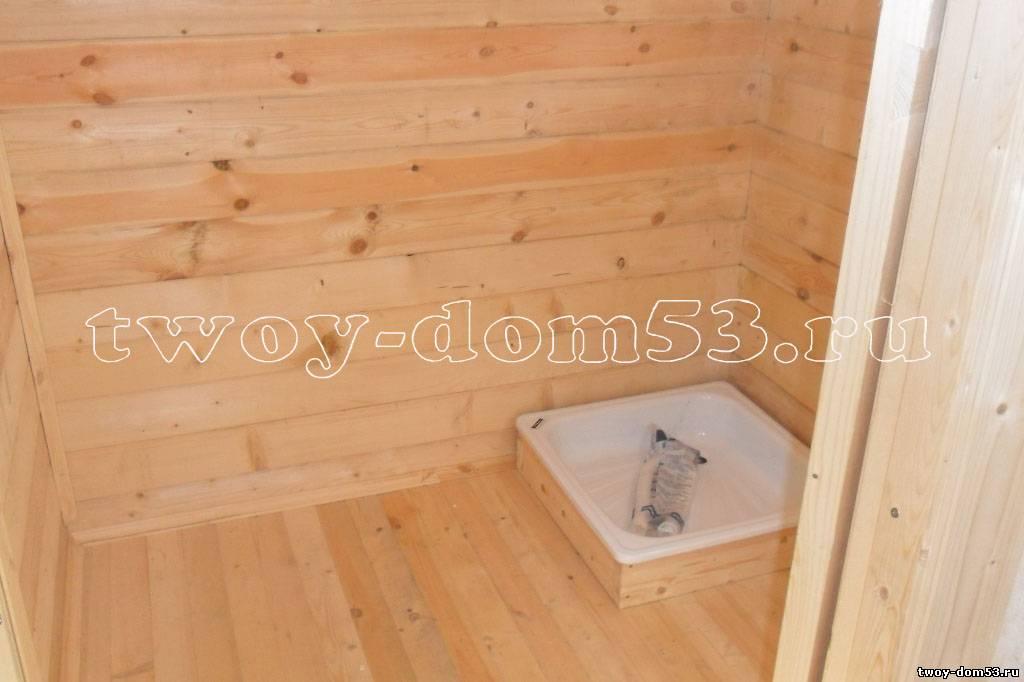 Душевая кабина своими руками в деревянном доме из пвх 11