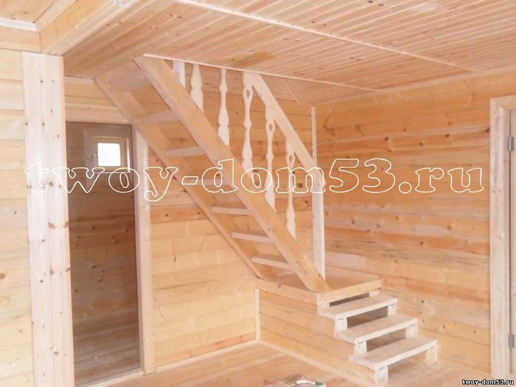 Лестница на мансарду своими руками фото